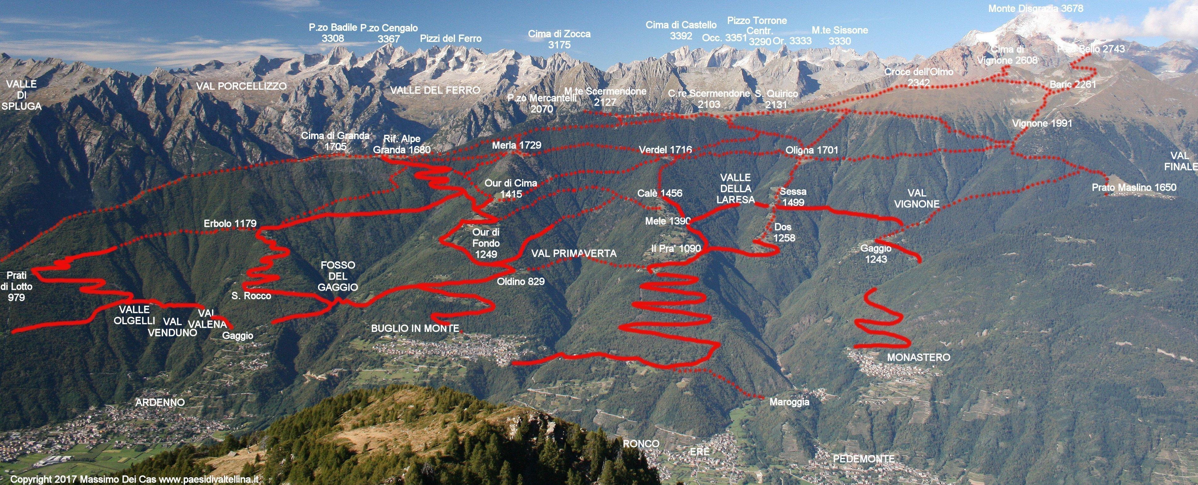 L 39 alpe granda il rifugio alpe granda ad ardenno for Piani di coperta ad alta elevazione