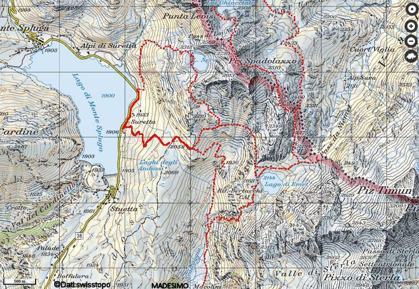 Cartina Geografica Livigno E Dintorni.Carte Escursionistiche Della Provincia Di Sondrio