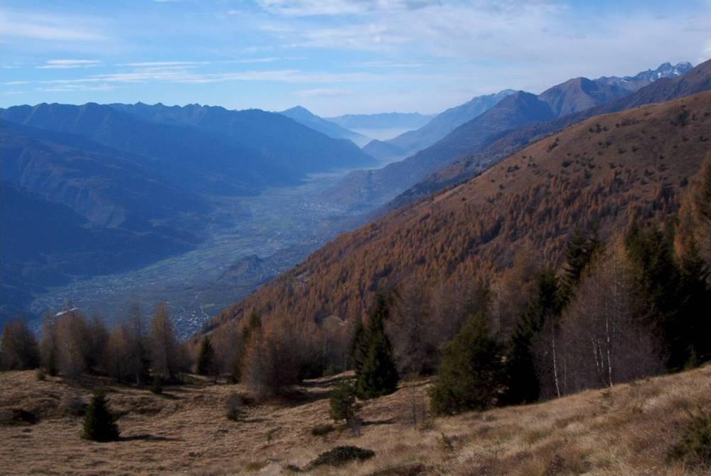 Sentiero italia 3 baita del sole tirano for Affitti cabina sole valle