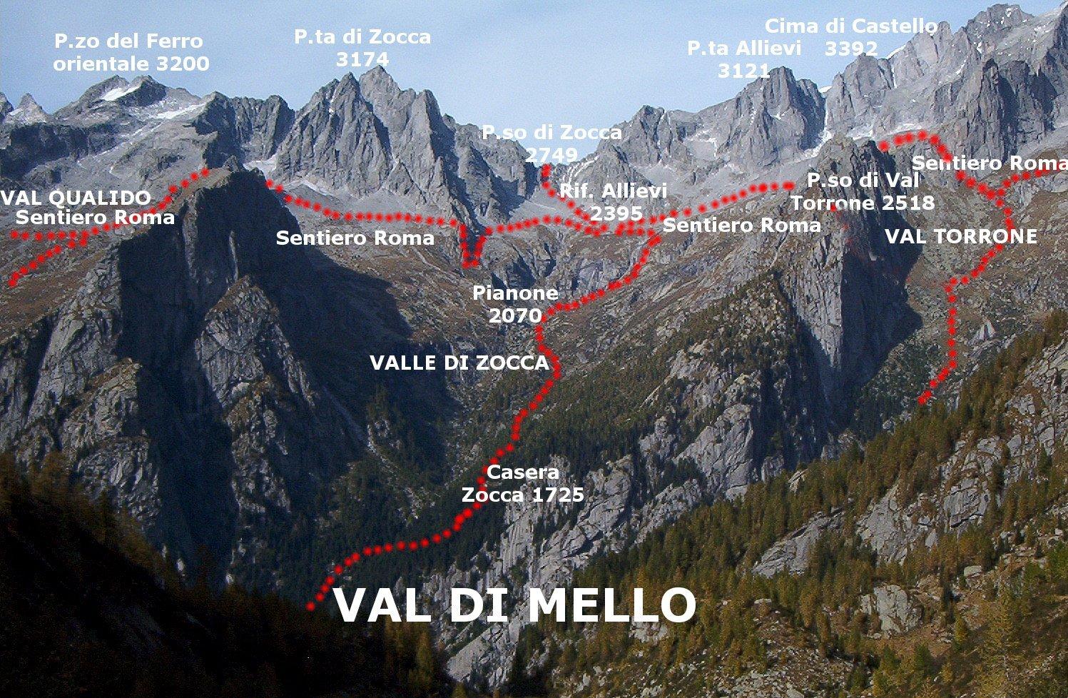Anello del Masino - 1 - San Martino-Rif. Allievi